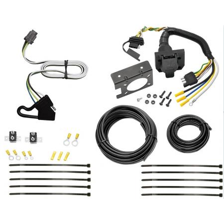 7 Way RV Trailer Wiring For 00-04 Nissan Xtrerra w/ Factory Tow PKG Plug Prong Pin Brake Control Ready