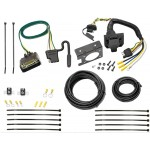 09-12 Ford E-150 E-250 E-350 w/ Factory 4-Flat 7 Way RV Trailer Wiring Plug Prong Pin Brake Control Ready (Prepped Class I Towing Package)