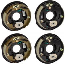 4-Pack 10 inch x 2-1/4in Electric Trailer Brakes 3500 lb (2) Right and (2) Left Side For Dexter Alko Lippert Rockwell and Quality Axles 1 Year Warranty