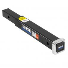 """Reese 2"""" to 2"""" Trailer Hitch Extension 18"""" Length 4,000/6,500 lb. Tow Receiver Extender"""