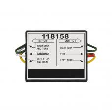 2 to 3 Taillight Converter for Connecting Tow Vehicles w/2 Wire Systems to Towed Vehicles w/3 Wire Systems