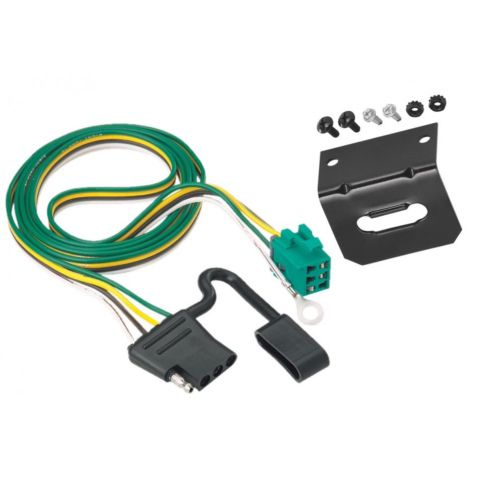 Trailer Wiring Harness Kit For 96 Factory Tow