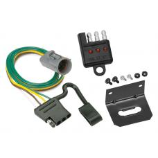 Trailer Wiring and Bracket and Light Tester For 95-01 Ford Explorer 98-99 Ranger w/Factory Tow Package 4-Flat Harness Plug Play