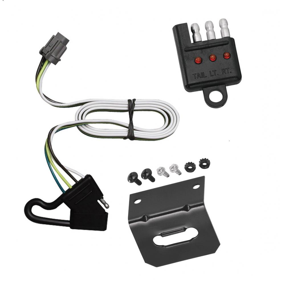 Trailer Wiring Harness For Xterra jeep wrangler trailer ... on towing accessories, towing wiring connectors, car towing harness, towing light harness, ford focus trailer harness, dodge ignition wire harness, towing stone guards, towing cable,