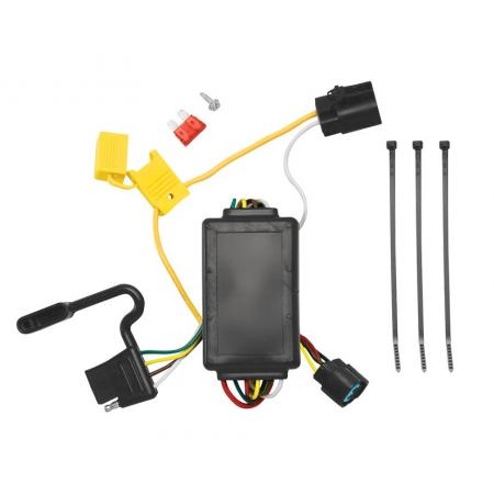 Trailer Wiring Harness Kit For 07-12 Hyundai Santa Fe w/Factory Tow Package