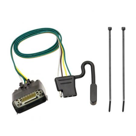 Trailer Wiring Harness Kit For 09-12 Ford Econoline E-150 E-250 E-350 Super Duty Prepped Class I Towing Package