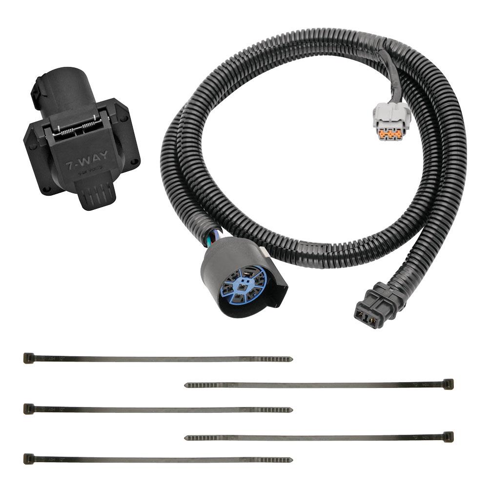 [SCHEMATICS_43NM]  7-Way RV Trailer Wiring Harness w/ Mounting Bracket For 05-20 Nissan  Frontier 05-12 | 2015 Nissan Frontier Trailer Wiring |  | TrailerJacks.com