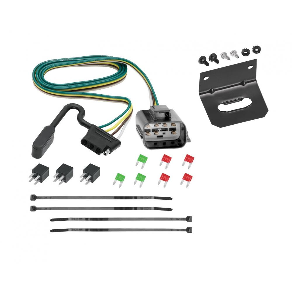 Trailer Wiring and Bracket For 2018 Traverse Limited 13-17 ...