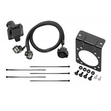 7-Way RV Trailer Wiring Harness w/ Mounting Bracket For 2015 Land Rover Range Rover 14-15 Sport