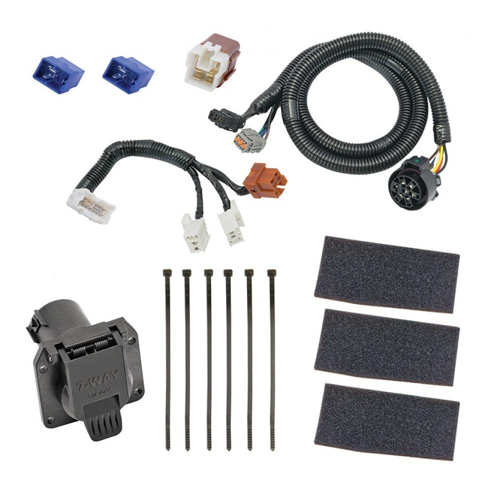 Swell 7 Way Rv Trailer Wiring Harness Kit For 05 19 Nissan Frontier 05 12 Wiring Digital Resources Almabapapkbiperorg