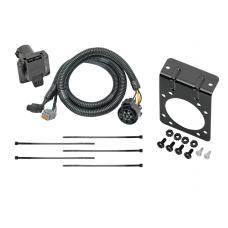 7-Way RV Trailer Wiring Kit w/ Mounting Bracket For 05-18 Frontier 05-12 Pathfinder 05-15 Xterra 09-12 Equator --Canada Only-- w/Factory Tow Package