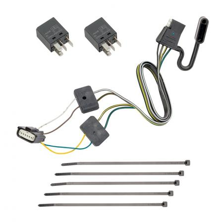 Trailer Wiring Harness Kit For 18-19 Chevy Equinox GMC Terrain w/ Tow Prep Package