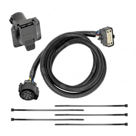 7-Way RV Trailer Wiring Harness Kit For 18-19 Buick Enclave Chevy Traverse