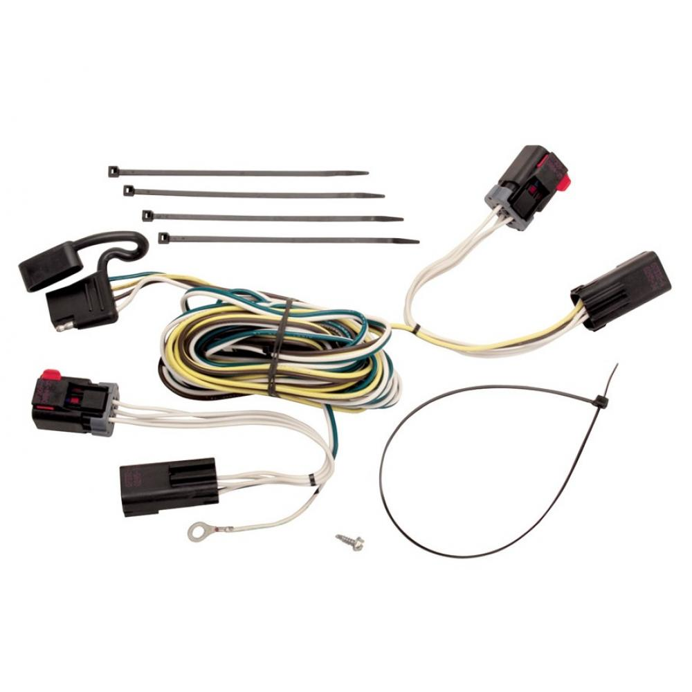 trailer wiring harness kit for 04 07 chrysler town country. Black Bedroom Furniture Sets. Home Design Ideas