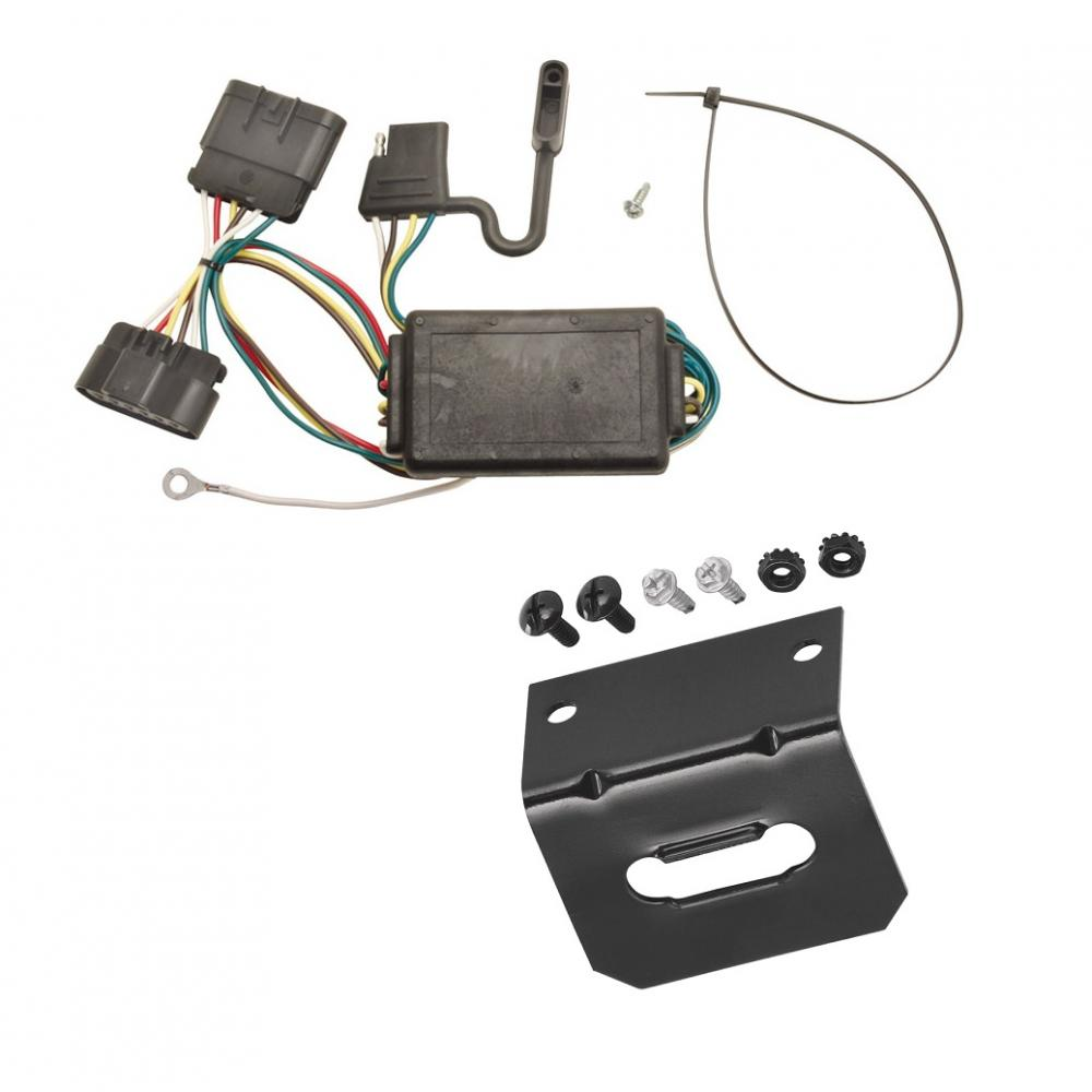 trailer wiring and bracket for 04 12 chevy colorado gmc canyon 06 08 Chevy Pickup Trailer Wiring Diagram