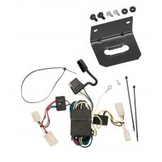 Trailer Wiring and Bracket For 03-06 Mitsubishi Outlander All Styles 4-Flat Harness Plug Play