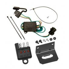 Trailer Wiring and Bracket and Light Tester For 03-06 KIA Sorento All Styles 4-Flat Harness Plug Play