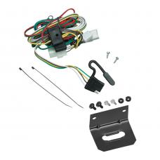 Trailer Wiring and Bracket For 02-05 KIA Sedona All Styles Plug and Play 4-Flat Harness Plug Play