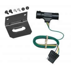 Trailer Wiring and Bracket For 73-84 Chevy Blazer Suburban GMC Jimmy C/K Pickup 4-Flat Harness Plug Play