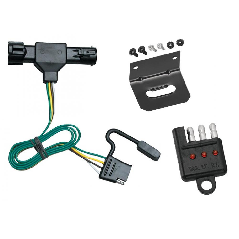 Trailer Wiring and cket and Light Tester For 86-92 Ford Ranger All on custom van accessories ford, creme tempo 4 door ford, cars manufactured by ford, trail ready bumpers for ford, liffted ford,