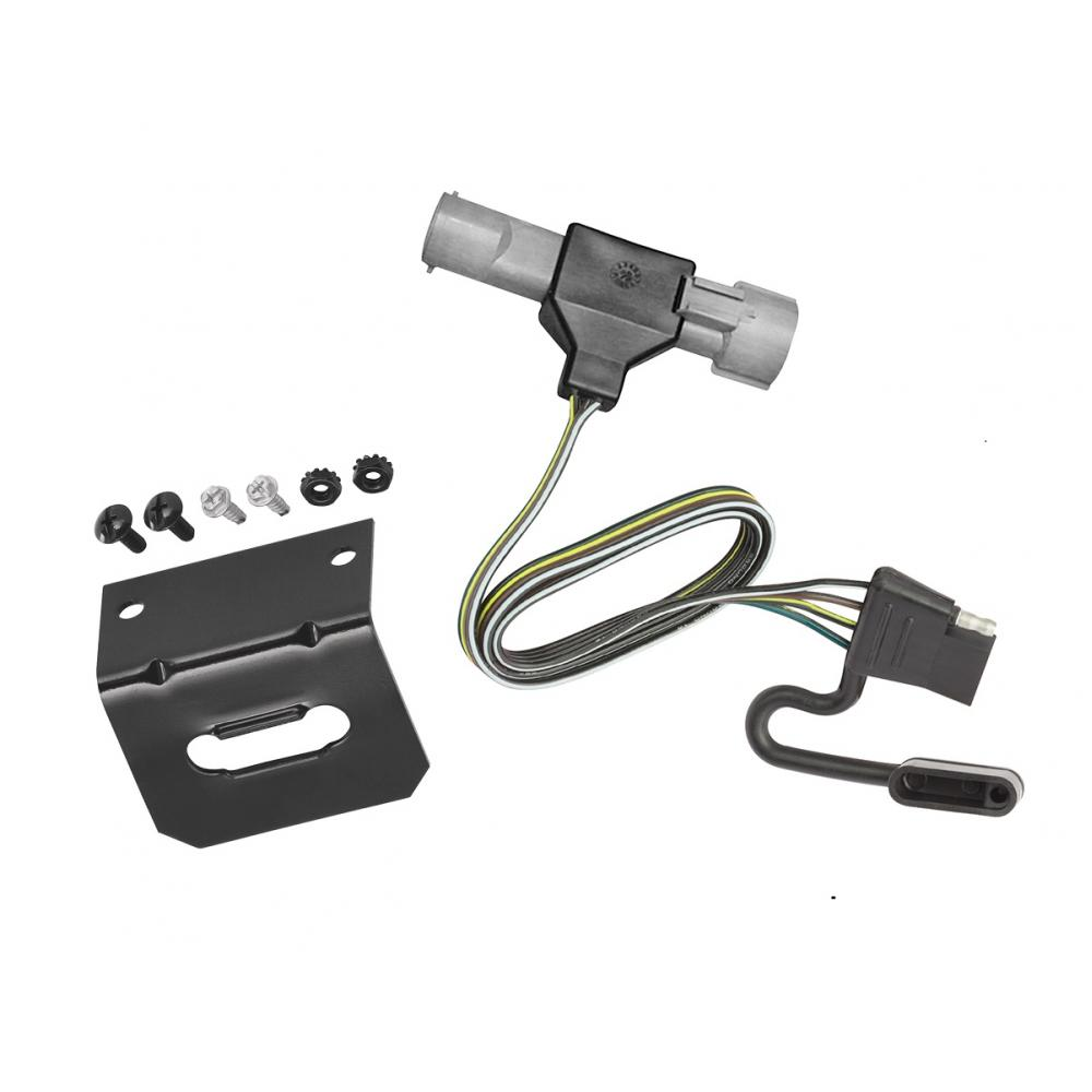 Trailer Wiring And Bracket For 87 96 Ford F 150 F 250 F border=