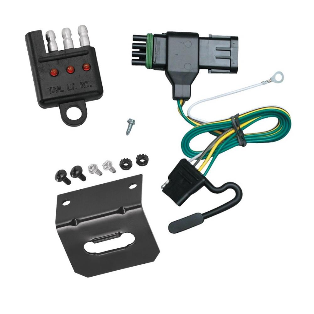 Trailer Wiring and cket and Light Tester For 92-99 Chevy GMC C/K 1500 on gmc truck wiring, gmc wiring schematics, gmc tires, gmc sierra wiring diagram, gm trailer harness, gmc seat covers, gmc electrical harness, gmc floor mats, gmc trailer wire kit, gmc wiring harness diagram, gmc trailer mirrors, gmc trailer brake controller, gmc w4500 specifications,
