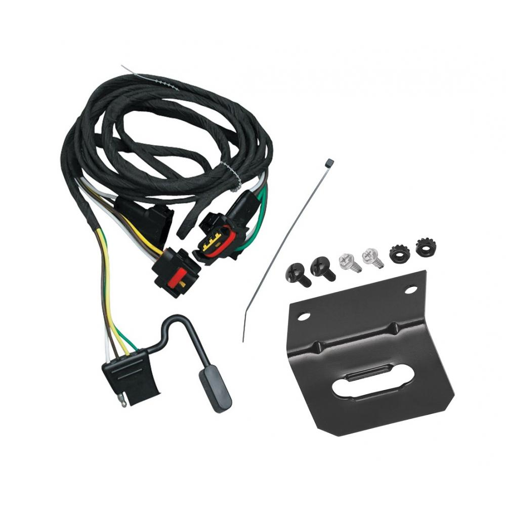 Trailer Wiring And Bracket For 91-95 Chrysler Town Country