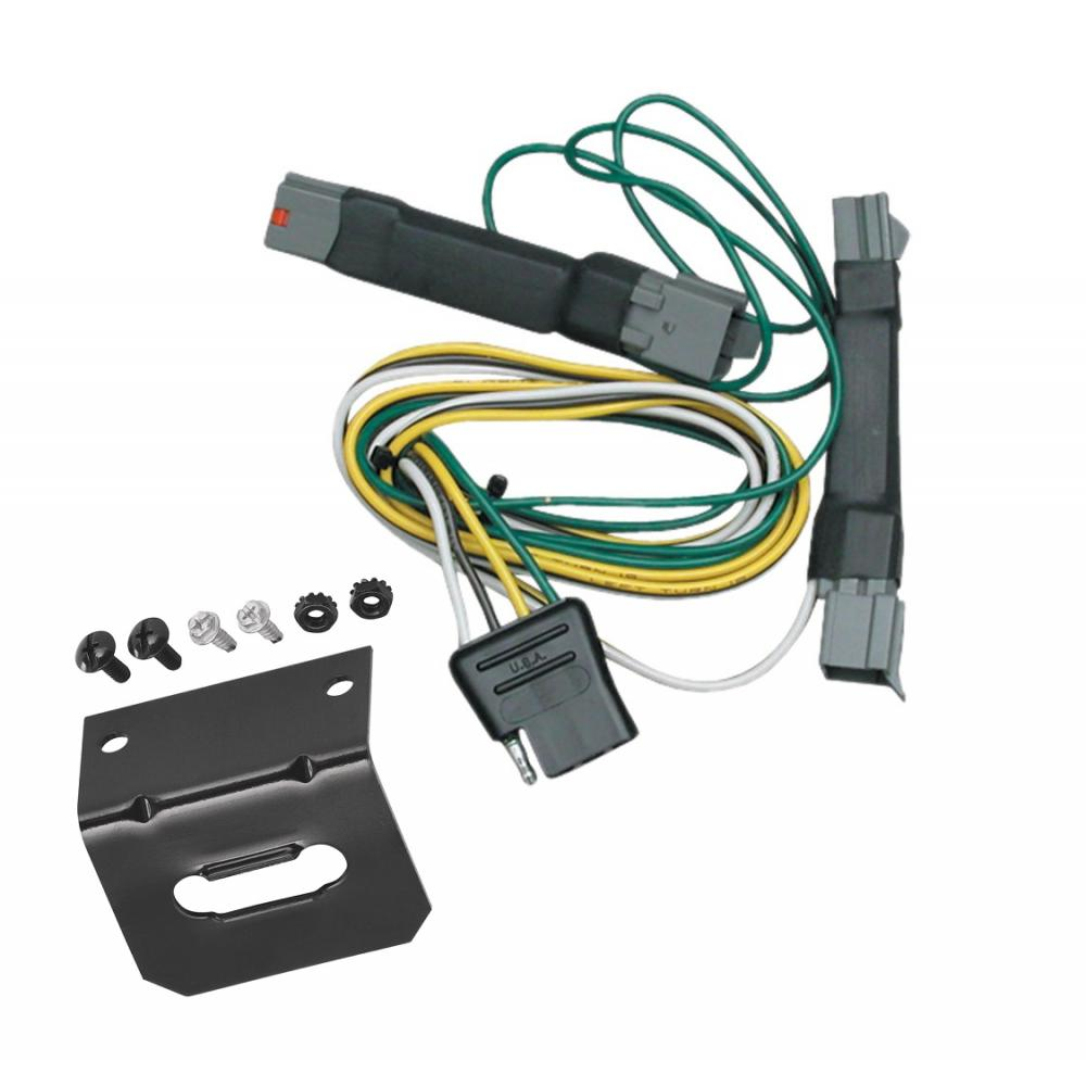 Trailer Wiring and cket For 92-97 Ford Crown Victoria Mercury Grand on custom van accessories ford, creme tempo 4 door ford, cars manufactured by ford, trail ready bumpers for ford, liffted ford,