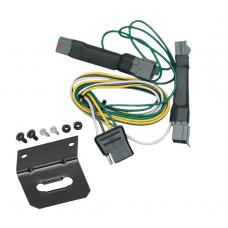 Trailer Wiring and Bracket For 92-97 Ford Crown Victoria Mercury Grand Marquis 94-04 Ford Mustang Except Cobra SVT 4-Flat Harness Plug Play