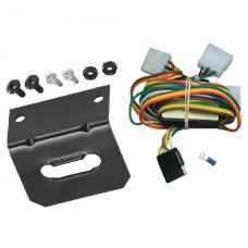 Trailer Wiring and Bracket For 94-97 Honda Passport 92-97 Isuzu Rodeo All Styles 4-Flat Harness Plug Play