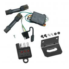 Trailer Wiring and Bracket and Light Tester For 96-99 Ford Taurus Mercury Sable Sedan 4-Flat Harness Plug Play