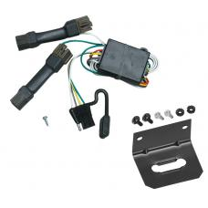Trailer Wiring and Bracket For 96-99 Ford Taurus Mercury Sable Sedan 4-Flat Harness Plug Play