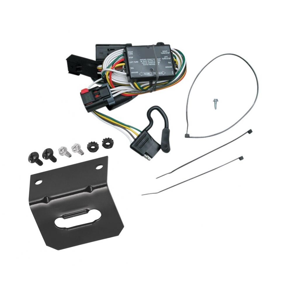 trailer wiring and bracket for 96-00 chrysler town country ... 1998 dodge caravan trailer wiring 1998 dodge caravan engines diagrams water pump #9