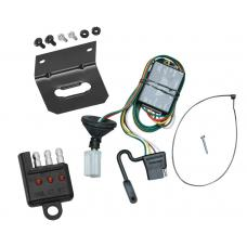 Trailer Wiring and Bracket and Light Tester For 96-99 Acura SLX 92-02 Isuzu Trooper All Styles 4-Flat Harness Plug Play