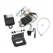 Trailer Wiring and Bracket and Light Tester For 96-02 Toyota 4Runner All Styles 4-Flat Harness Plug Play