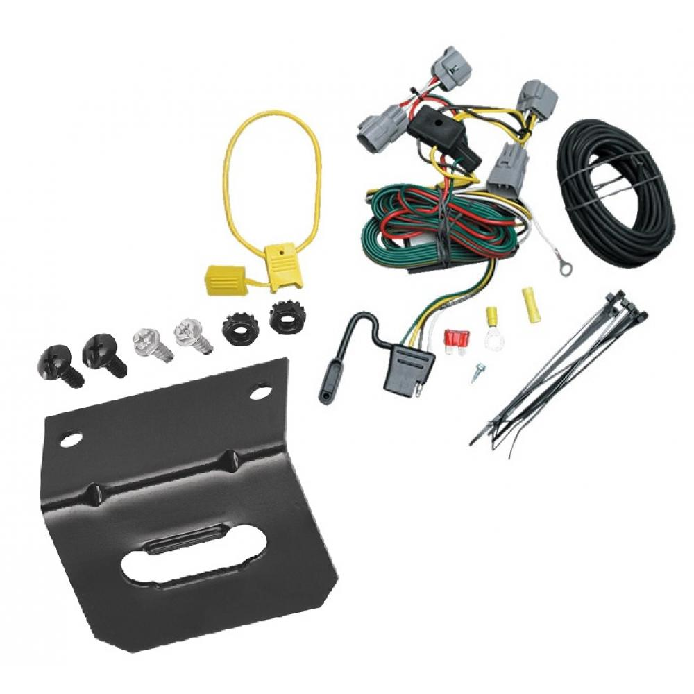 Trailer Wiring and Bracket For 94-98 Jeep Grand Cherokee ... | 1998 Jeep Grand Cherokee Trailer Wiring Harness |  | TrailerJacks