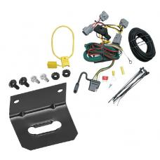 Trailer Wiring and Bracket For 94-98 Jeep Grand Cherokee ZJ All Styles 4-Flat Harness Plug Play