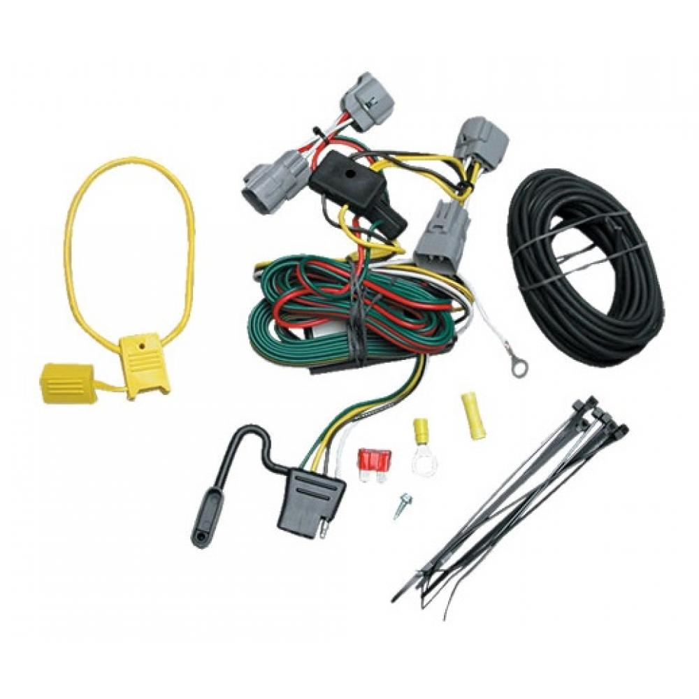 Trailer Wiring Harness Kit For 94-98 Jeep Grand Cherokee ZJ ... on