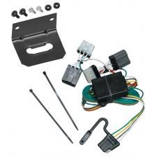 Trailer Wiring and Bracket For 87-95 Nissan Pathfinder 86-97 Nissan D21 Pickup 4-Flat Harness Plug Play