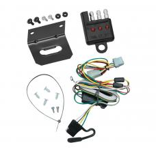 Trailer Wiring and Bracket For 97-05 Chevy Venture 99-09 Pontiac Montana 97-98 Trans Sport 4-Flat Harness Plug Play