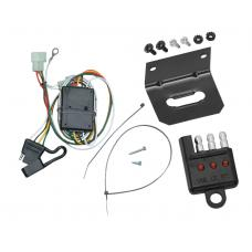 Trailer Wiring and Bracket and Light Tester For 96-97 Lexus LX450 Toyota Land Cruiser All Styles 4-Flat Harness Plug Play