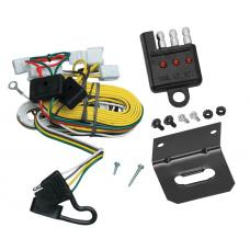 Trailer Wiring and Bracket and Light Tester For 97-01 Toyota Camry 4 Dr. Sedan 4-Flat Harness Plug Play