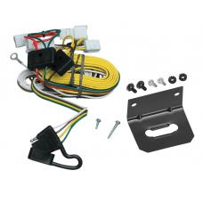 Trailer Wiring and Bracket For 97-01 Toyota Camry 4 Dr. Sedan 4-Flat Harness Plug Play