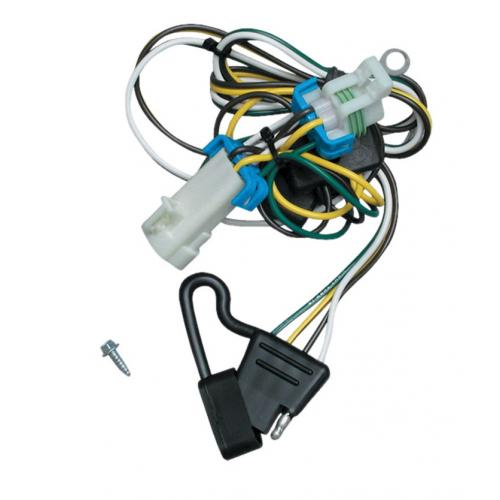 Trailer Wiring Harness Kit For 9804 Chevy S10 GMC Sonoma 9800 Isuzu Hombre: 2000 GMC Sonoma Trailer Wiring Harness At Gundyle.co