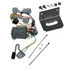 Trailer Wiring and Bracket For 98-04 Chrysler 300M Concorde LHS Dodge Intrepid 4-Flat Harness Plug Play