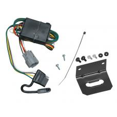 Trailer Wiring and Bracket For 98-99 Toyota Land Cruiser Lexus LX470 All Styles 4-Flat Harness Plug Play