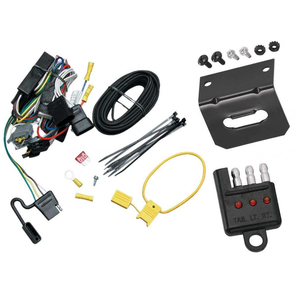 [SCHEMATICS_4US]  Trailer Wiring and Bracket and Light Tester For 99-03 Ford Windstar (Built  Before 11/2002) 4-Flat Harness Plug Play | Ford Windstar Trailer Wiring Harness |  | TrailerJacks.com