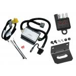 Trailer Wiring and Bracket and Light Tester For 2000 Toyota Tundra All Styles 4-Flat Harness Plug Play