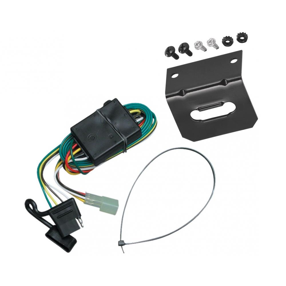 7 flat wiring harness trailer wiring and bracket for 98 04 chevy tracker 96 97 geo  trailer wiring and bracket for 98 04