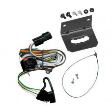 Trailer Wiring and Bracket For 01-03 Town & Country Voyager Caravan Grand Caravan 4-Flat Harness Plug Play